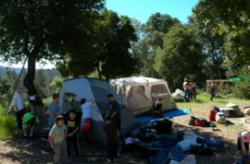 setup camp