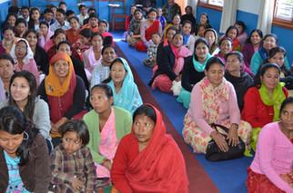 1ere Conference Nationale 2007 du Nepal sur la Condition de la Femme - Joie  et étonnement