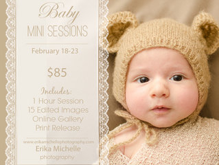 Baby Mini Session Promotion