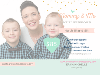Current Promotions! Mommy and Me