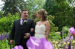 Outdoor wedding in Ottawa