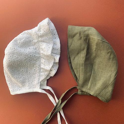 Lino kepurytė su ripuliuku