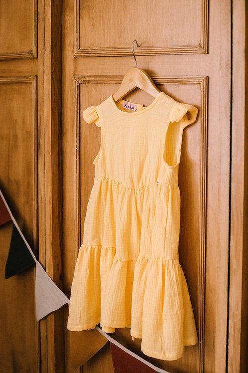 Ripuliukų suknelė