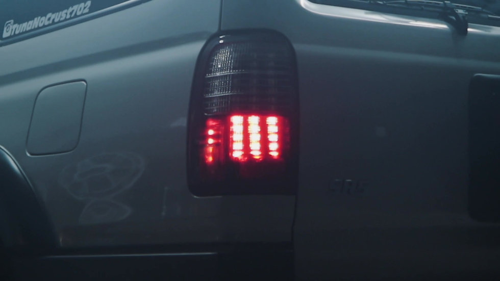 BXBuilt 3rd gen 4runner LED Tail lights with F1 Brake flashing and Sequentials