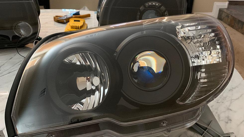 06 - 09 4runner Basic Retrofit Headlights
