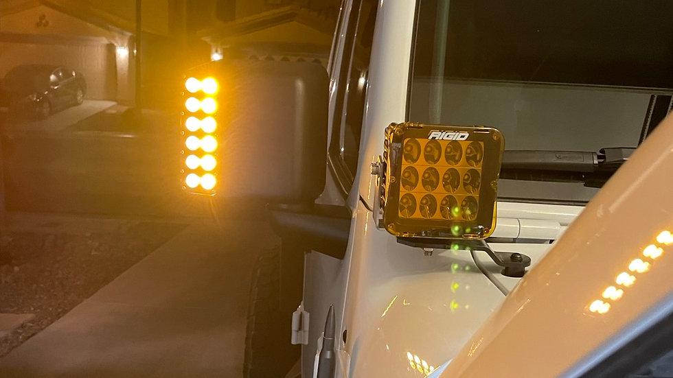 Jeep Wrangler JK, JL and Gladiator switchback Mirrors