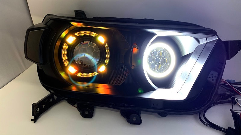 2010-13 4Runner with Halos and quad projectors