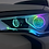 Thumbnail: 2014+ 4runner Quad Projector Headlights with Halos