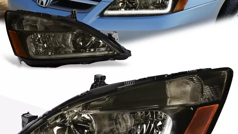 03-07 Honda Accord retrofit with LED DRL