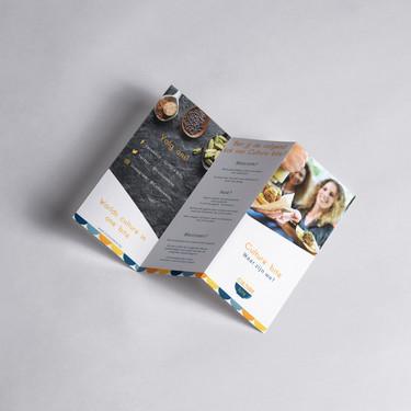 Brochure 3 luik zigzag