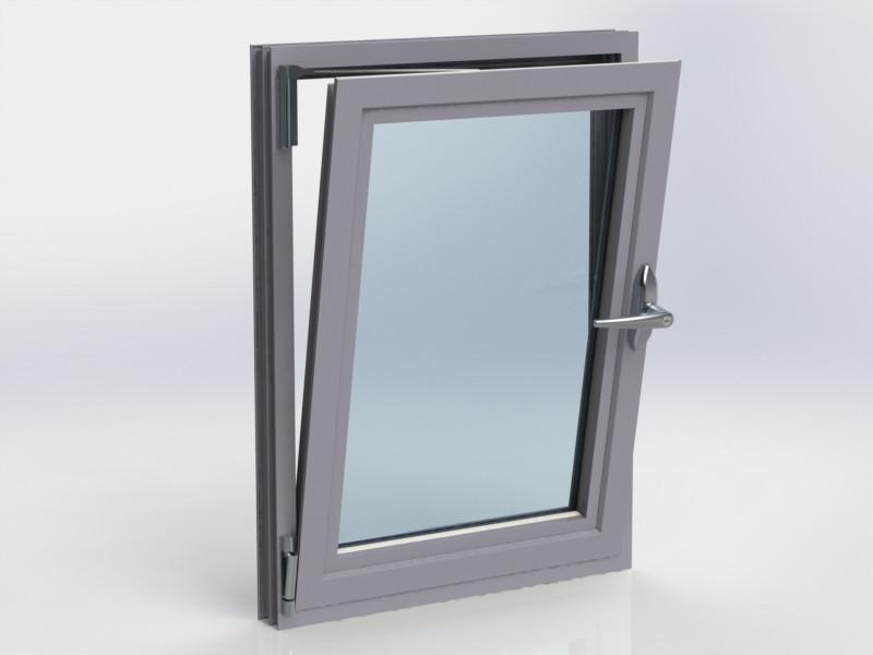 Kestrel Tilt & Turn Window in Grey Tilt