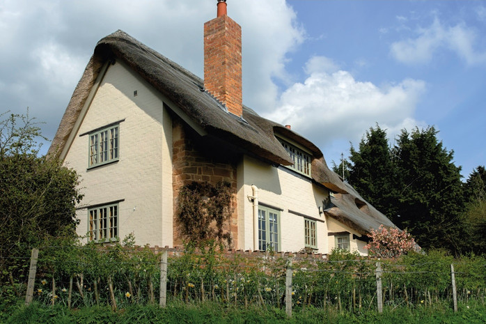 Rehau Rio Thatched Cottage w/ Astragal Bars in Chartwell Green