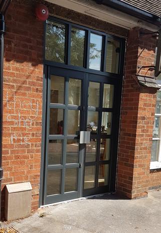 Kestrel French Doors w/ Toplight