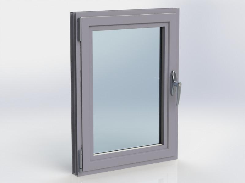 Kestrel Tilt & Turn Window in Grey Closed