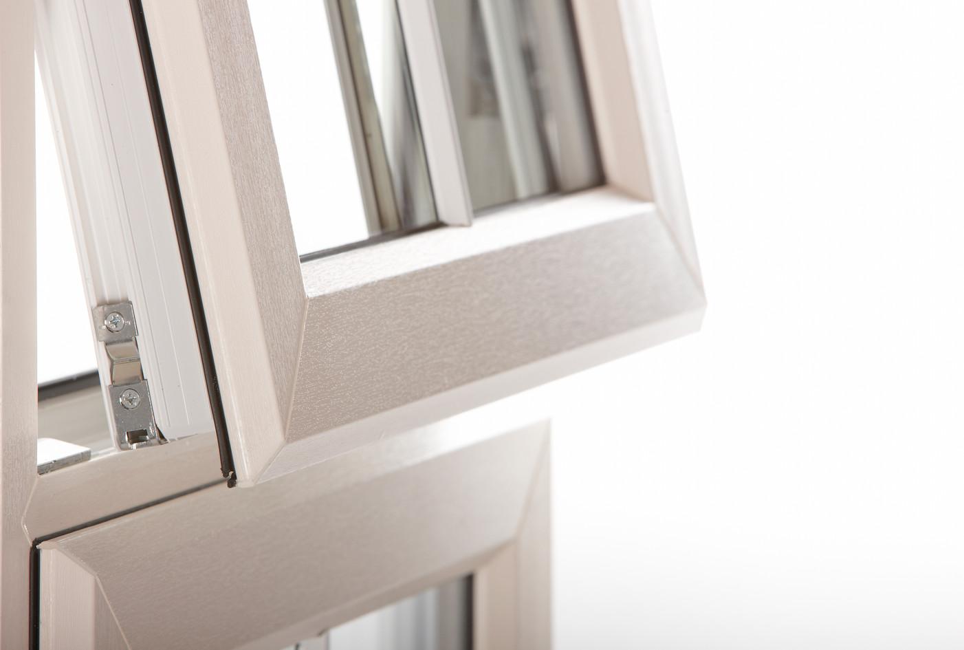 Rehau Total70 Casement Window in Clotted Cream