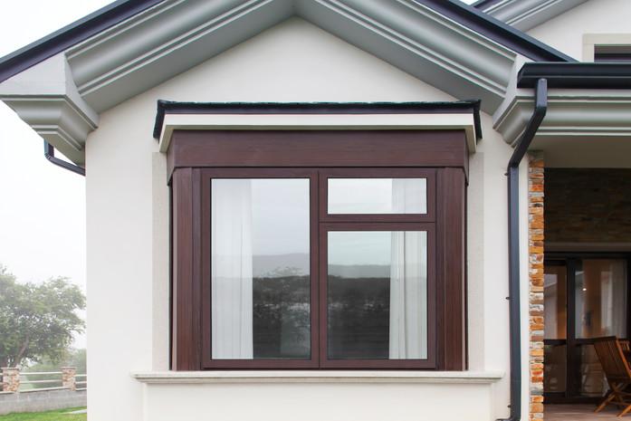 Cortizo Casement Window in Brown