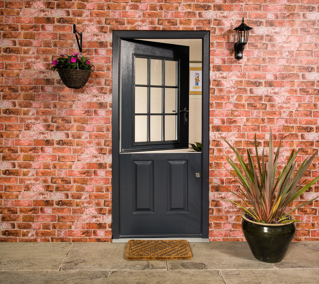 Endurance Snowdon Stable Door in Anthracite Grey
