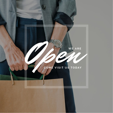 Let People Know You're Open!