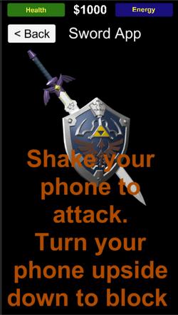 PhoneScreen Sword