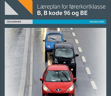 Læreplan for førerkortklasse B