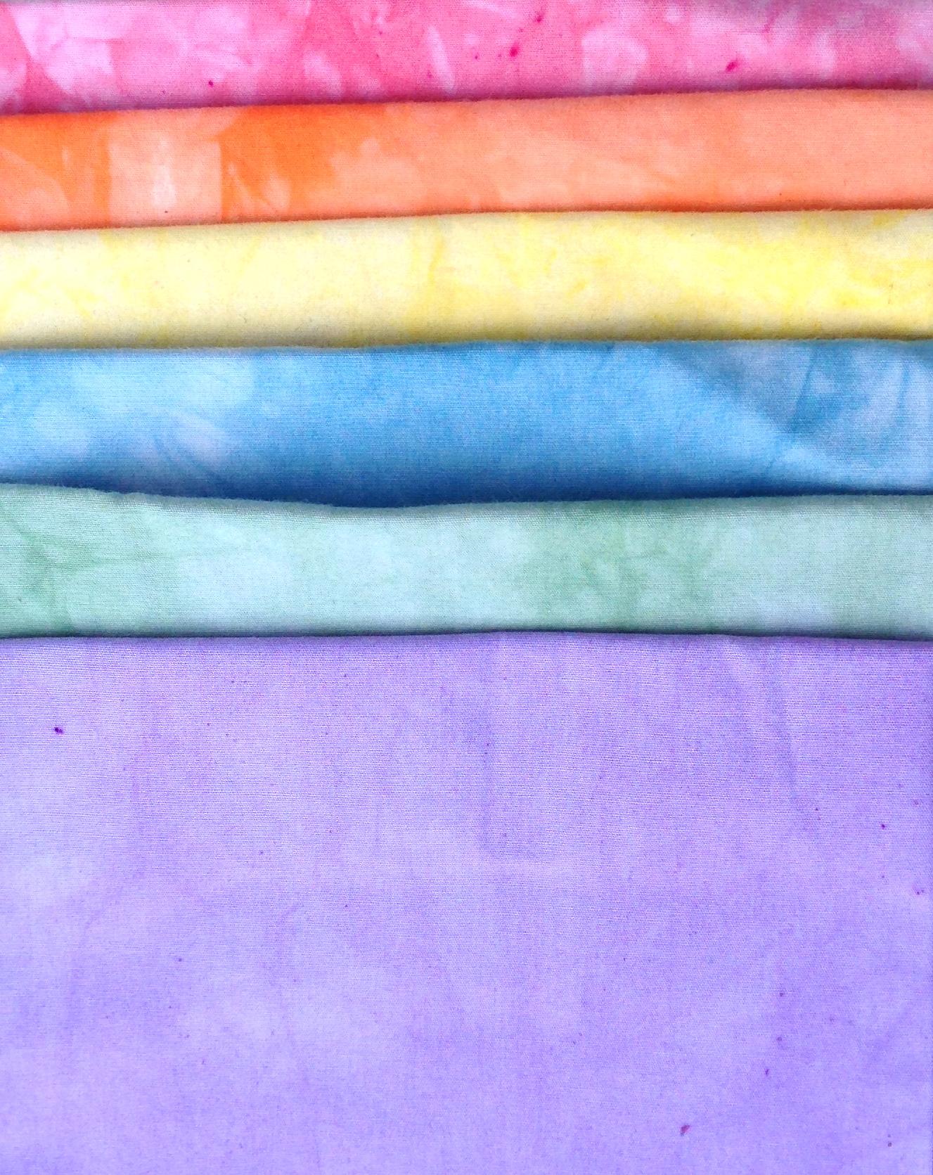 6 Step Rainbow Pastel