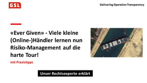 Ever Given und Risiko-Management