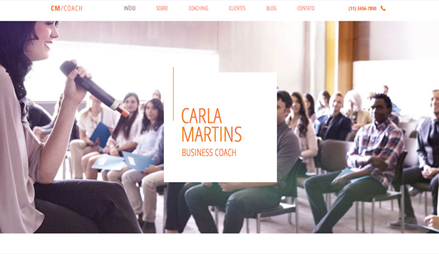 Ver todos os templates website templates – Business coach