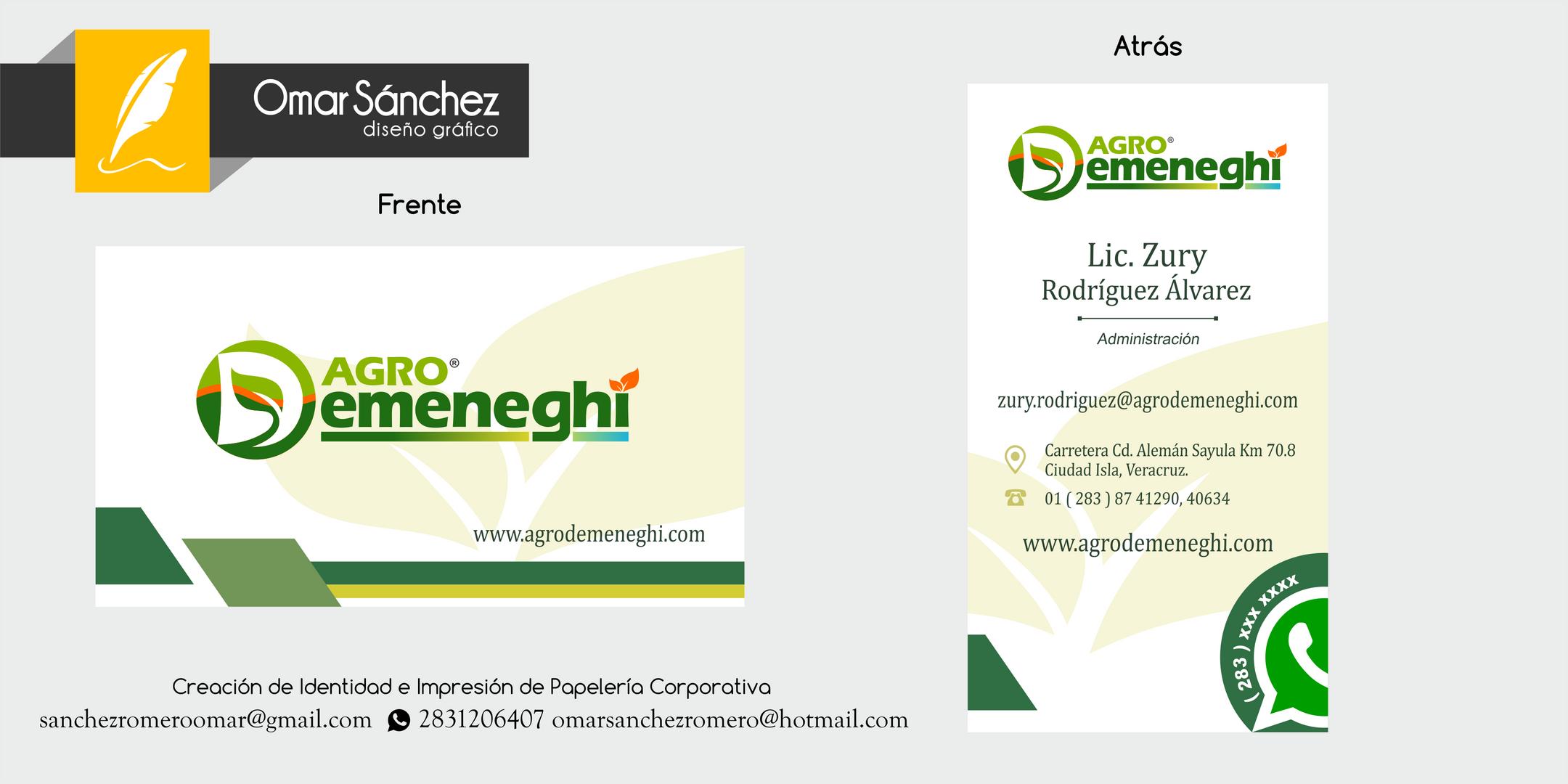 """Productos Quimicos para el Campo """"Agrodemeneghi"""""""