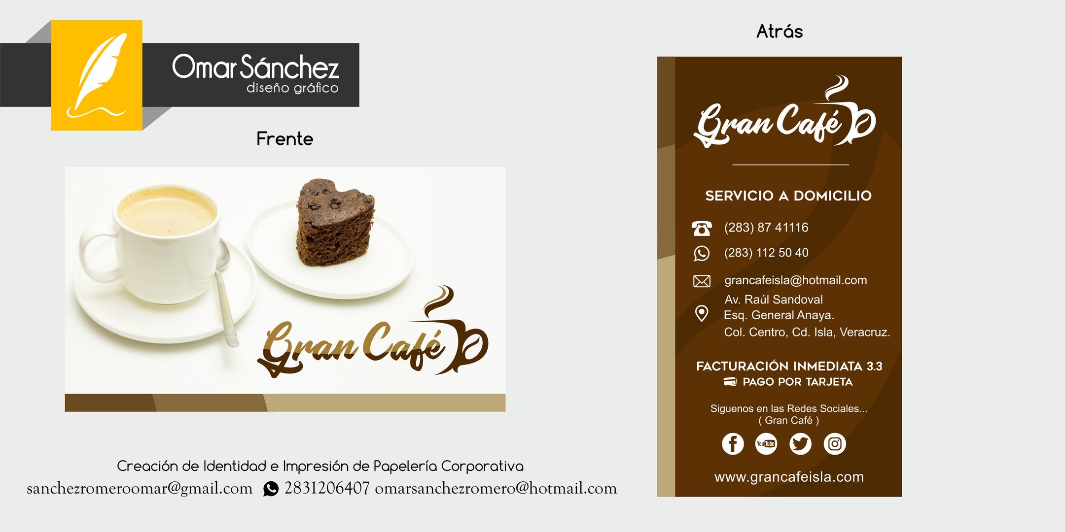 "Resraurant ""El Gran Cafe"""