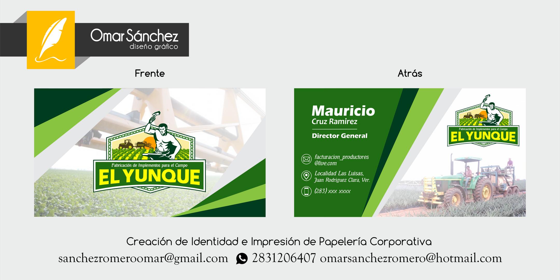 """Produccion de Maquinaria Agricola """"El Yunque"""""""