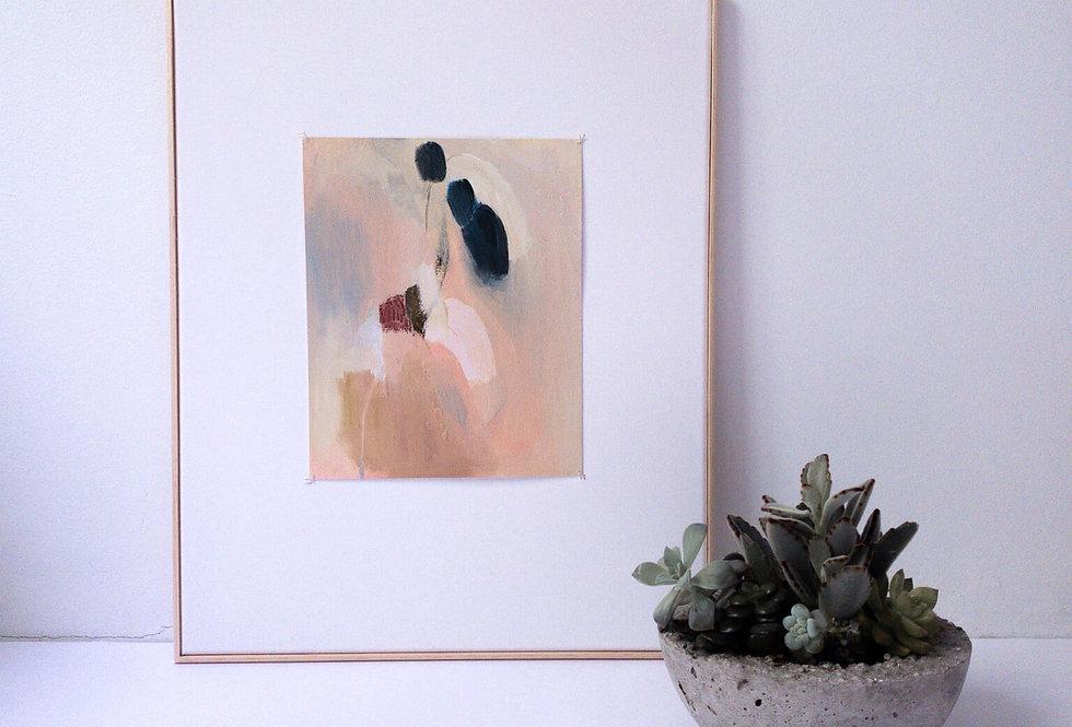 """Risk Looking Like A Fool"" Medium oil painting"