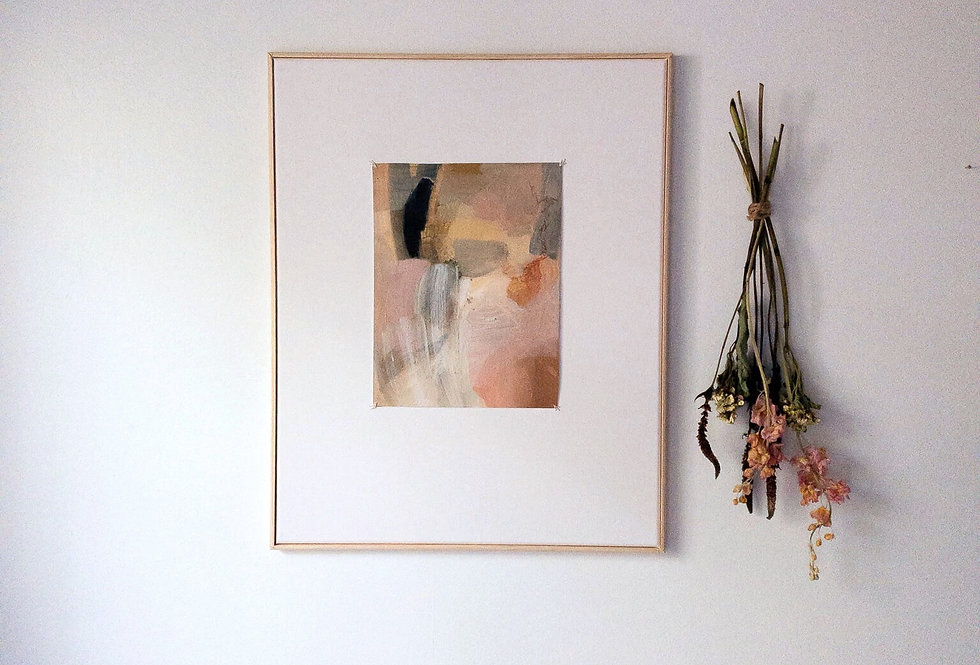"""When All Else Falls Away"" Medium oil painting"