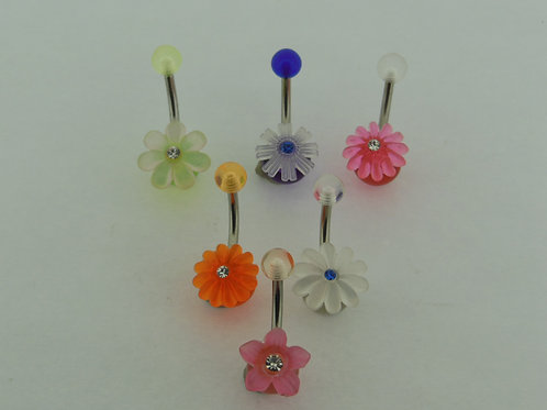 Fancy Plastic Simple Flower Navel Banana