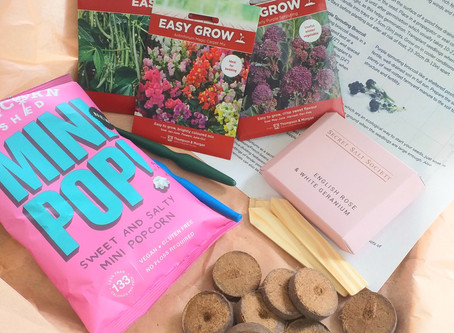 Make Garden Cook Subscription Box - May - What's in the box?.......