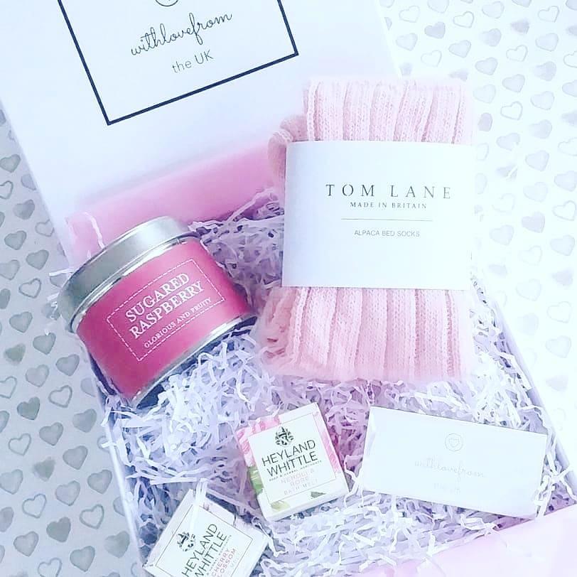 WLFTUK Cosy Pink Gift Box