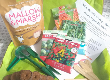 Make Garden Cook Subscription Box - March - What's in the box?.......