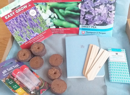 Make Garden Cook Subscription Box - January....What's in the box?.......