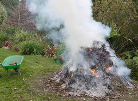 Garden Bonfires in this day and age.....