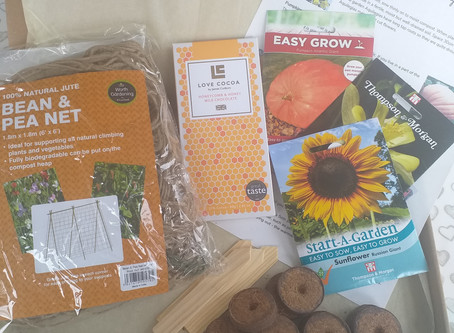 Make Garden Cook Subscription Box - April - What's in the box?.......