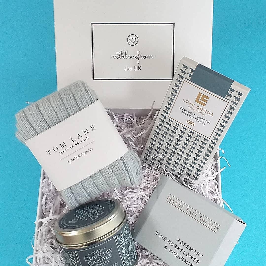 WLFTUK Cosy Blue Gift Box