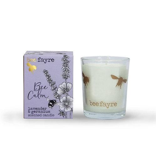Lavender and Geranium Candle