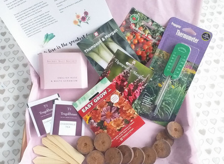 Make Garden Cook Subscription Box - February - What's in the box?.......