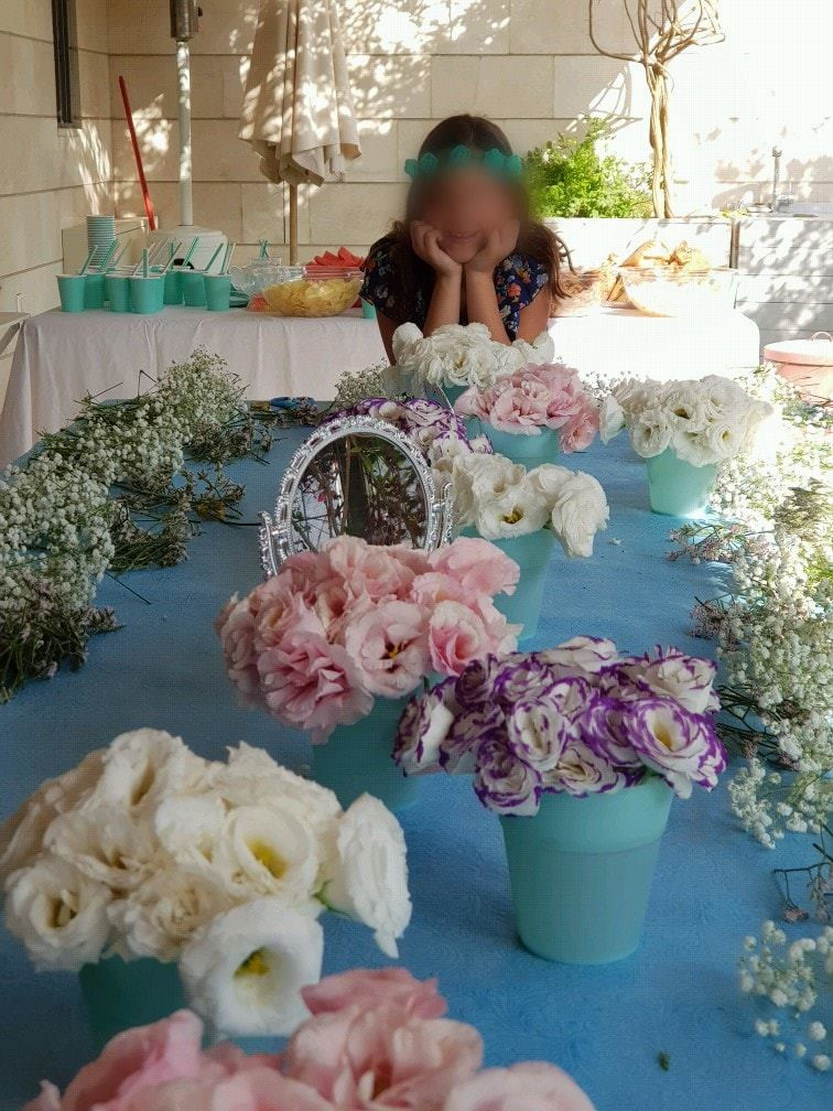 יום הולדת פרחים