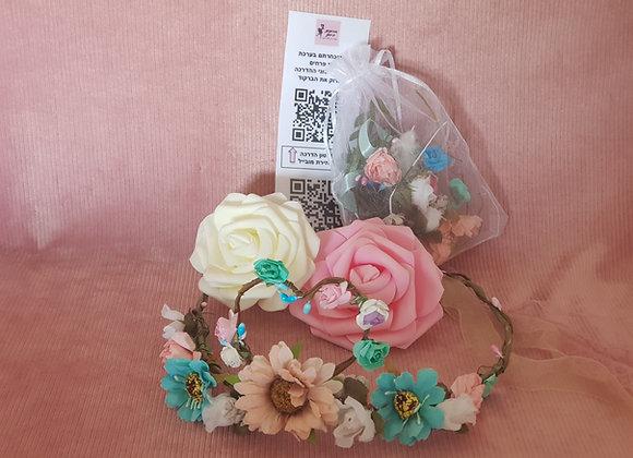 מתנה לילדה - ערכה לשזירת פרחים