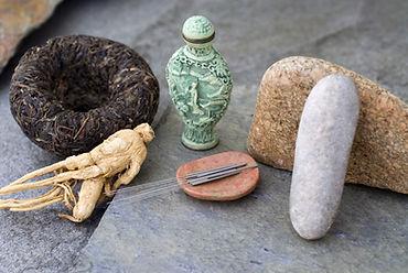 Traditional asian health items_black tea