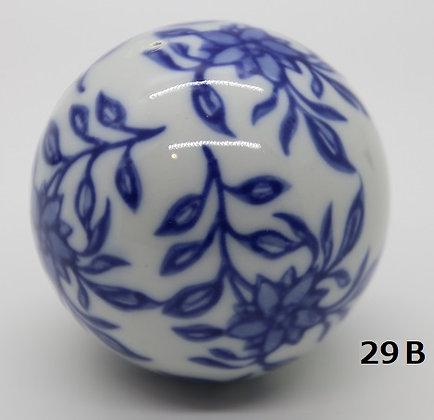 "Ukidama ""Japan Blue"" grande N° 29 B - diametro 5,5 cm"