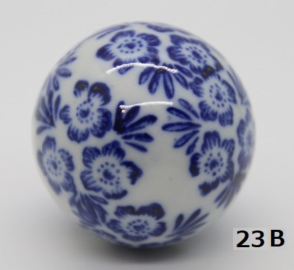 "Ukidama ""Japan Blue"" media N° 23 B - diametro 4 cm"
