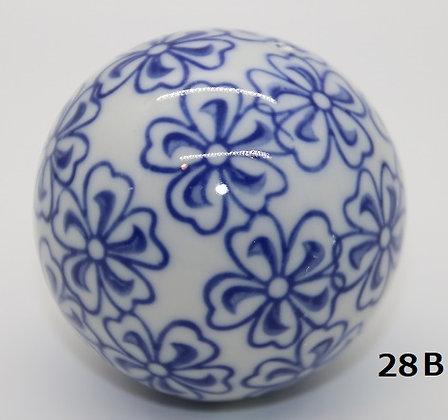 "Ukidama ""Japan Blue"" grande N° 28 B - diametro 5,5 cm"