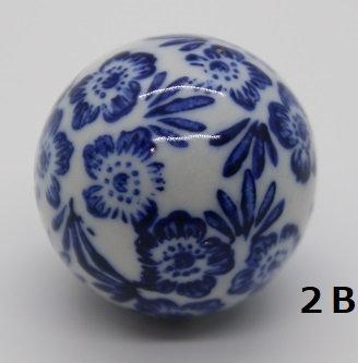 "Ukidama ""Japan Blue"" piccola N° 2 B - diametro 3 cm"
