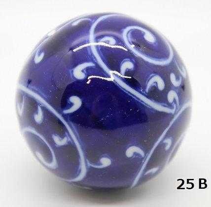 "Ukidama ""Japan Blue"" grande N° 25 B - diametro 5,5 cm"